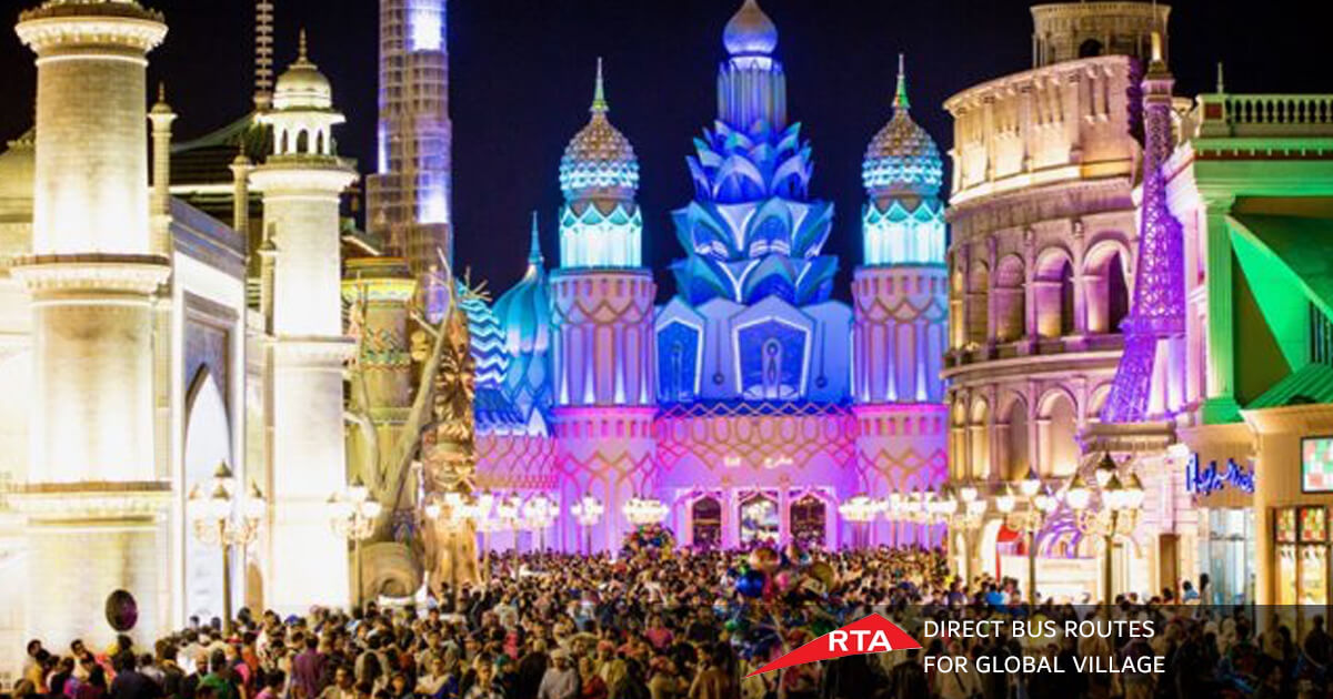 2 RTA Bus Routes For Global Village Started From November 1